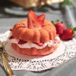 ホワイトチョコとあまおう苺のモンブラン!カフェ・ド・クリエで発売